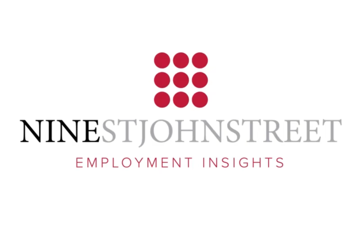 The Employment Team of 9 St John Street launch Employment Insights
